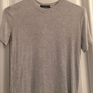 brandy grey and white top